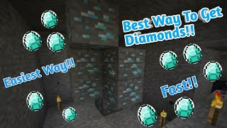 Best Ways To Get Diamonds In Minecraft! - Easiest Way To Find Diamonds Guide!