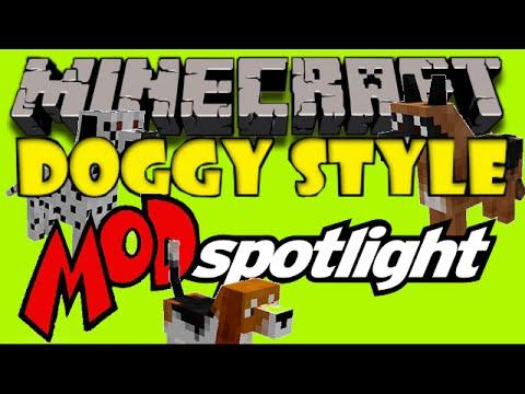 Doggy Style Mod - Minecraft Spotlight & How to Install @AdventurePros Gaming