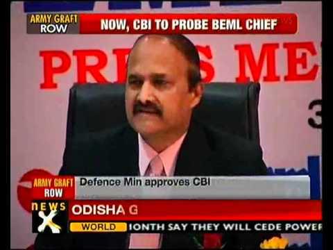 Tatra case: CBI to probe BEML chief - NewsX