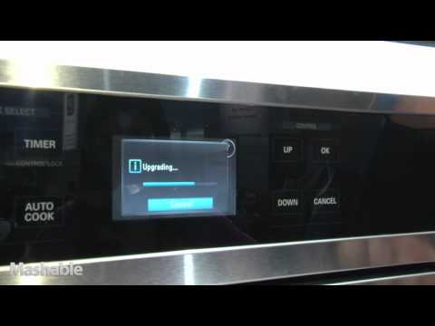 LG Oven Demo at CES 2011