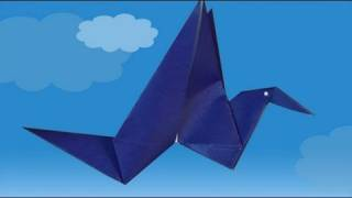 L'oiseau Qui Bat Des Ailes, Comment Faire Origami