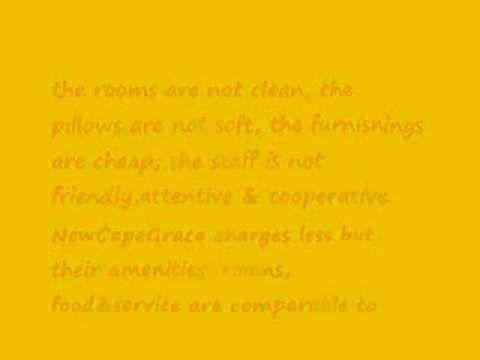 Review by ToDD SheA - NewCapeGrace Guest House Hotels  in IslamabaD PakistaN