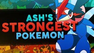 Ash Ketchum's Best / Strongest Pokemon In Each Region! - Woopsire