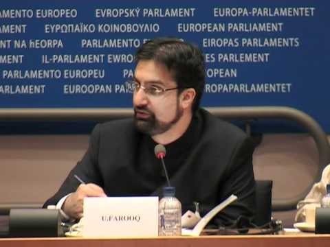 Mirwaiz Umar Farooq Speech in EU Parliamant