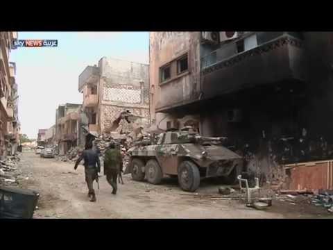 المعارك تحيل بنغازي إلى أنقاض