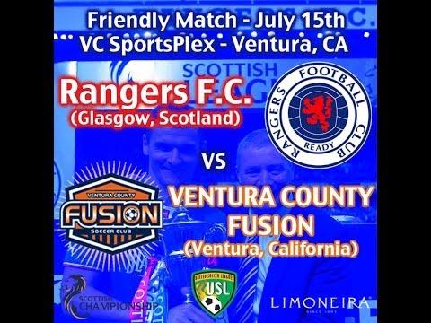 Glasgow Rangers FC vs. Ventura County Fusion - July 15, 2014 - 7PM