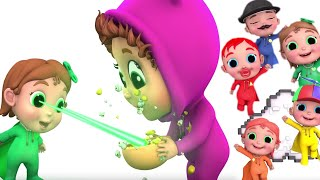 Super Finger Family | Learn Colors with Super Babies and Baby Joy Joy | Educational