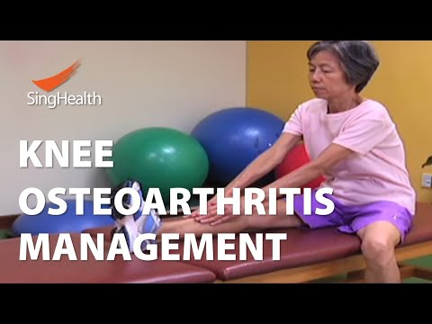 Knee Osteoarthritis and Physiotherapy Management - SingHealth Healthy Living Series