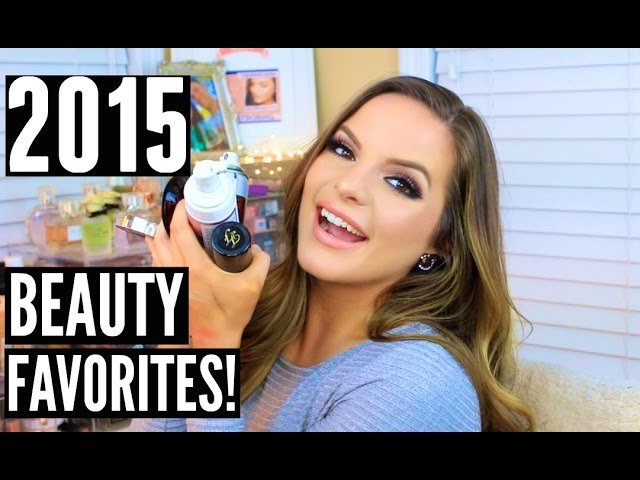 NEW HAIR! & 2015 BEAUTY FAVORITES! | Casey Holmes