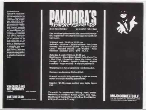 T.C. Matic: Pandora's Music Box 1983 (LIVE)