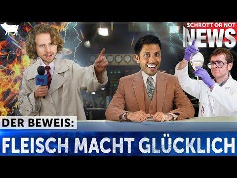 DER BEWEIS: FLEISCH macht GLÜCKLICH!