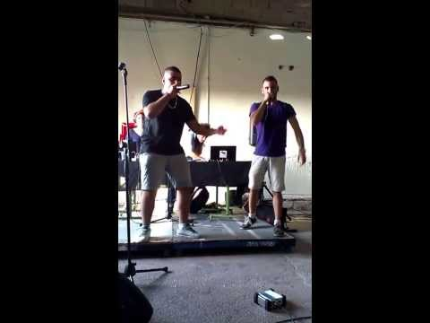 Beatbox For Peace - Arab Beatboxer bahaa And Worldbridger (gilad Shamri) Freestyling Together. video