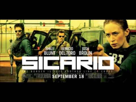 One of the most unsettling things about Sicario had to be the score... Johann Johannsson is a genius at making you feel gross
