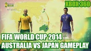 2014 FIFA World Cup Brazil (DEMO) - Australia vs Japan
