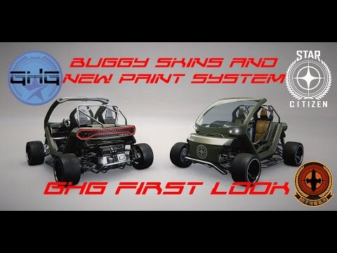 GhG first look - Buggy skins and paint system