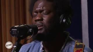"Michael Kiwanuka performing ""Love & Hate"" Live on KCRW"