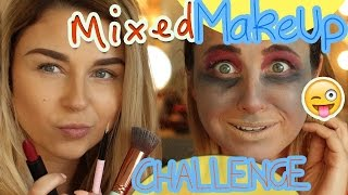 Mixed Makeup Challenge I ooobacht