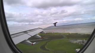 singapore airlines a380 economy class upper deck  takeoff for Auckland to singapore
