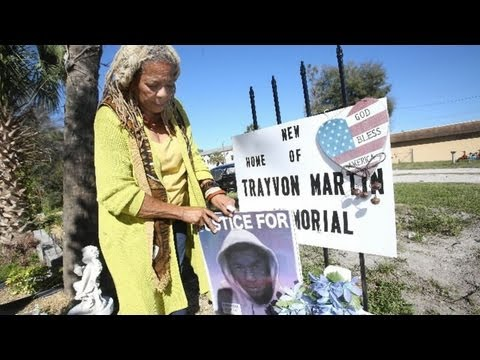One year anniversary of Trayvon Martin shooting