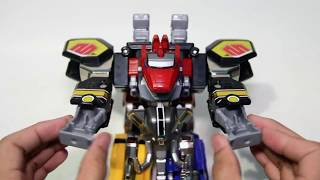Legacy Megazord review Mighty Morphin Power Rangers 大獣神