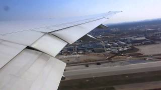 Boeing 777-300ER Aeroflot Takeoff from Moscow SVO