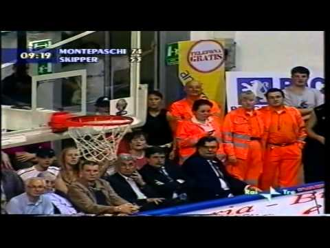 2004 G3 Montepaschi Siena vs Skipper Fortitudo Bologna (2nd half)