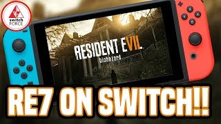 HUGE SWITCH NEWS! Resident Evil 7 - First Cloud Streaming Game!
