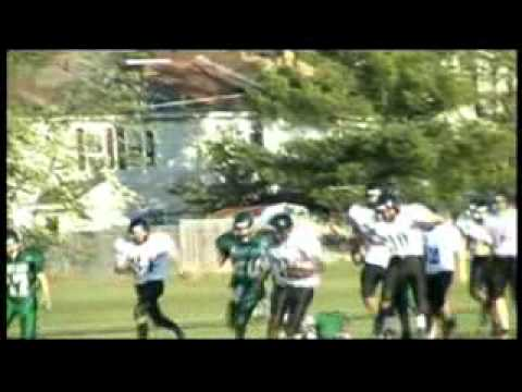 Dj Frisby-James Wood Middle School 13 Year Old RunningBack Highlight.avi