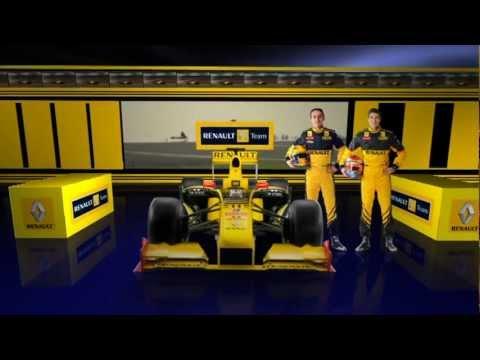 Промо ролик Рено формула 1 \ Renault F1 team promo clip