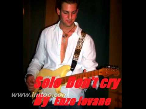 Cover Don't cry by Enzo Iovane