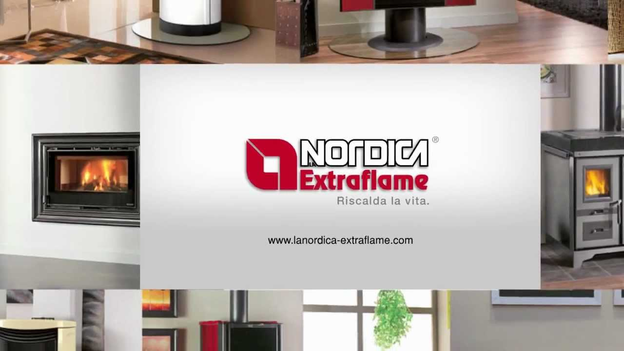 La nordica extraflame idea creativa della casa e dell for Stufa nordica emma