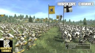 Medieval 2: Total War - Hardcore - Тевтонцы vs Новгород