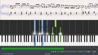 Guns N Roses November rain piano Tutorials and music sheet
