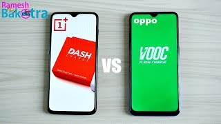 Dash Charger vs Vooc Charger Charging Speed Test