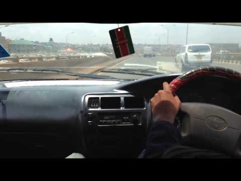 crazy kenyan driver on thika road super highway!