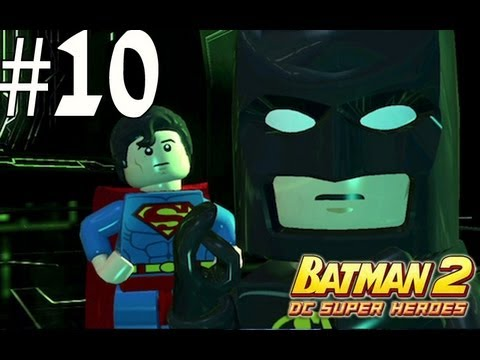 Lego Batman 2 - Walkthrough Part 10 Research and Development