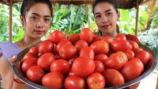 Yummy cooking tomato with fish recipe - Cooking skill