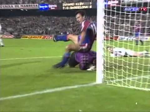 Барселона - Динамо Киев 4:1. ЛЧ - 1993/94 (обзор)