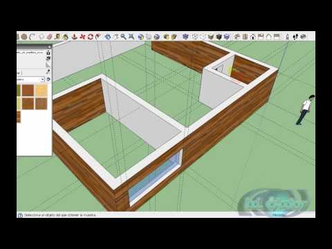 tutorial Basico de herramientas de google sketchup en español 2/2
