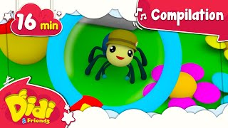 Itsy Bitsy Spider | +More Popular Nursery Rhymes & Kids Songs | Didi & Friends English