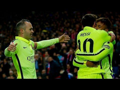 FC Barcelona ganó 3 - 2 a Atlético de Madrid  Copa del Rey