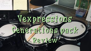 Vexpressions generations pack review- Roland Td50 module and Atv drums