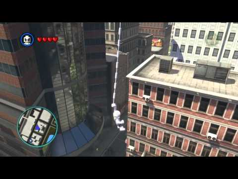 LEGO Marvel Super Heroes The Video Game - Spider-Man free roam
