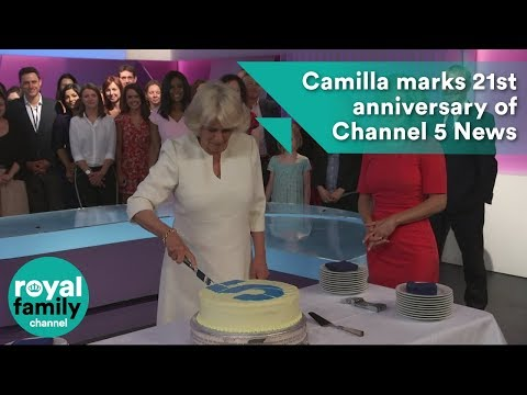 Camilla, Duchess of Cornwall marks 21st anniversary of Channel 5 News
