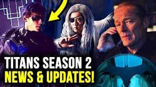 Nightwing and Ravager LEAKED & Showrunner Talks BATMAN in Titans Season 2!