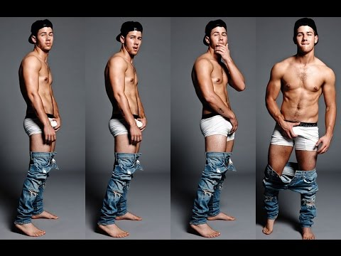 Nick Jonas Strips, Grabs His Junk In