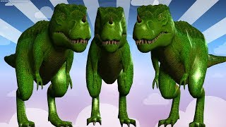 Dinosaur Finger Family Song || Nursery Rhymes For Kids Toddlers Educational