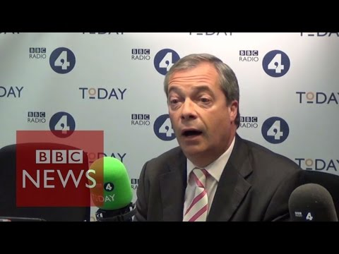 Nigel Farage: UKIP 'won't help Labour' - BBC News