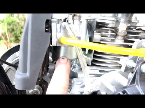How To Fix Gas Leaking 4 Stroke Motorized Bicycle 7G
