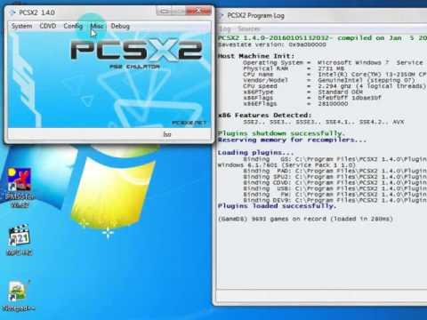 PCSX2 1.4.0+BIOS+TUTORIAL